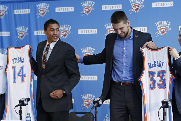 Can Mitch McGary and Josh Huestis Play Big Roles for OKC Thunder This Season?