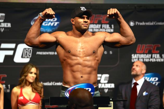 Alistair Overeem vs. Ben Rothwell Booked for UFC Fight Night 50