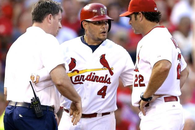 Yadier Molina Injury: Updates on Cardinals Star's Thumb Sprain and Return