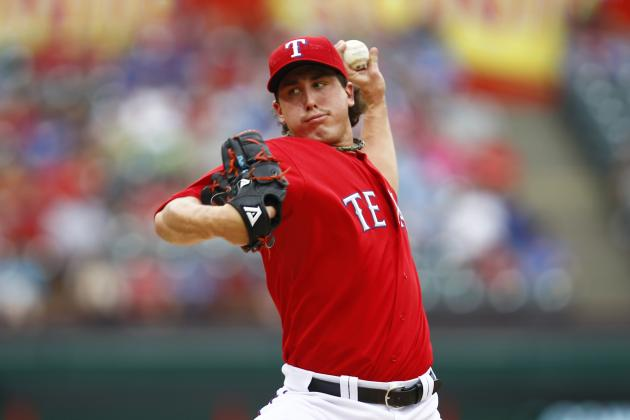 Derek Holland's Return to Rangers Likely Pushed to Late August