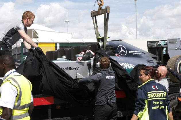 Breaking Down the Causes of Formula 1 Retirements in 2014 as Grid Penalties Loom