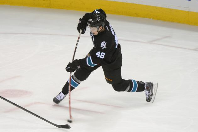 Sharks' Tomas Hertl Says Sore Knee Nothing to Worry About