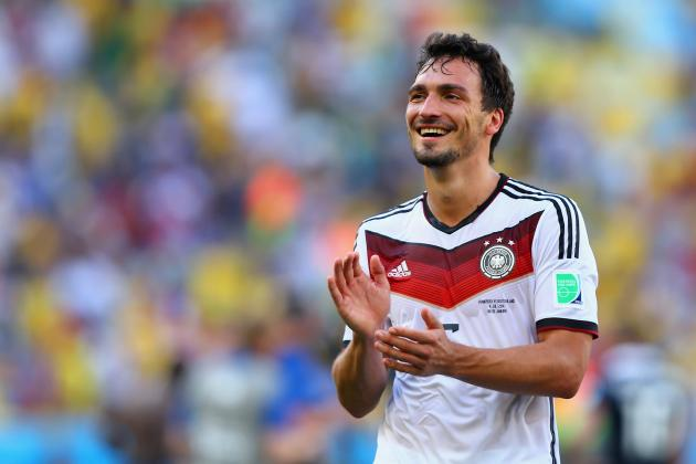 Mats Hummels Reveals Germany Decided Not to Humiliate Brazil in 2nd Half