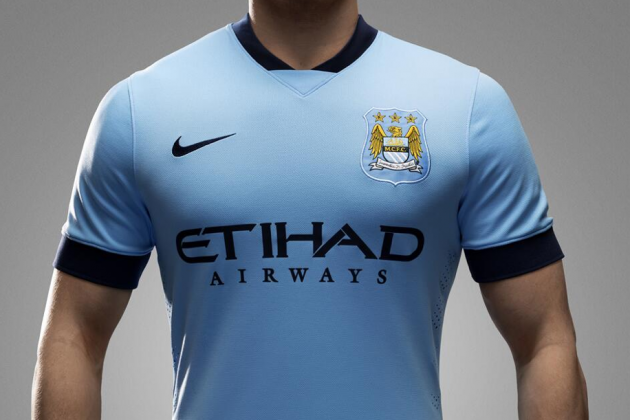 Manchester City Reveal New Nike Home Kit for 2014-15 Season