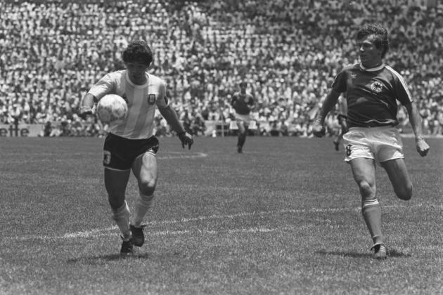 Charting Germany's World Cup History with Argentina