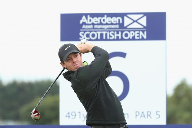 Rory McIlroy at Scottish Open 2014: Daily Scores and Leaderboard Updates