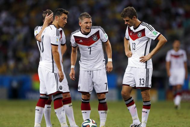 Key Tactical Battles That Will Shape Germany's Clash with Argentina