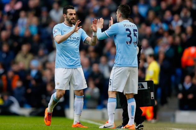 Stevan Jovetic or Alvaro Negredo: Who Should Man City Release to Meet Ruling?