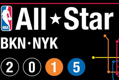 NBA Unveils Logo for 2015 All-Star Game