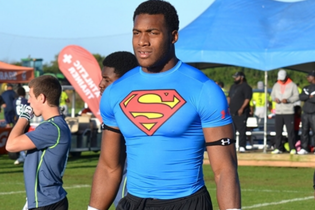 5-Star DE Byron Cowart Warms Up to Notre Dame