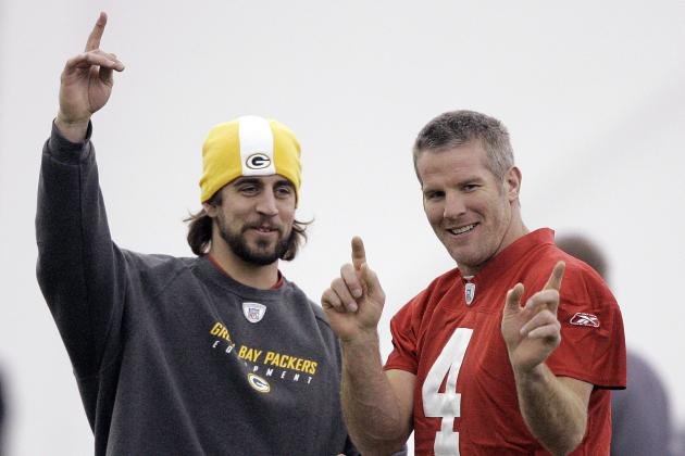 Favre Holds Edge on Rodgers in Packers QB Lore