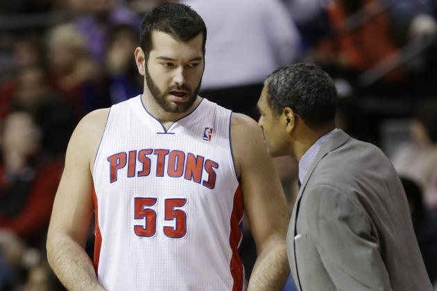 Josh Harrellson Done with Detroit Pistons After Aaron Gray Signing?