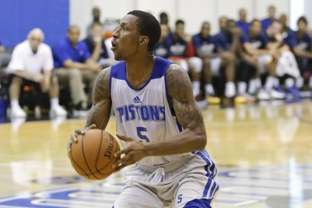 Detroit Pistons Could Sit Kentavious Caldwell-Pope for Rest of Summer League