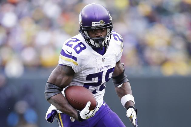 Vikings' Adrian Peterson Ranked NFL's Fourth-Best by NFL Network