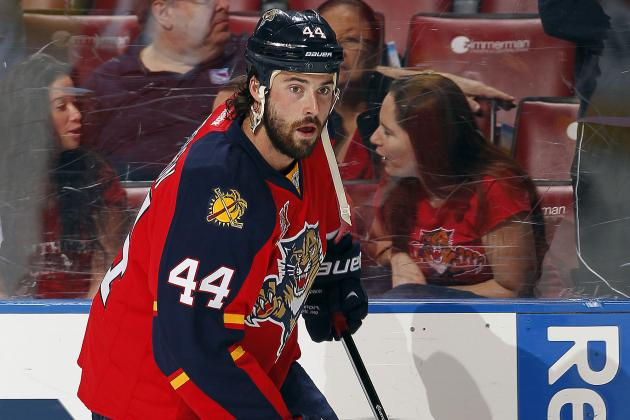 Erik Gudbranson Agrees to Two-Year Contract with Florida Panthers