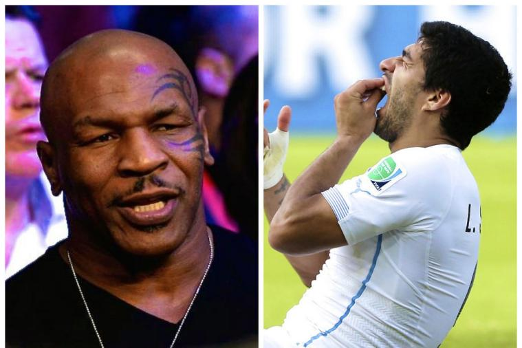 Mike Tyson on Luis Suarez: 'Sometimes You Become Something That You Are Not'