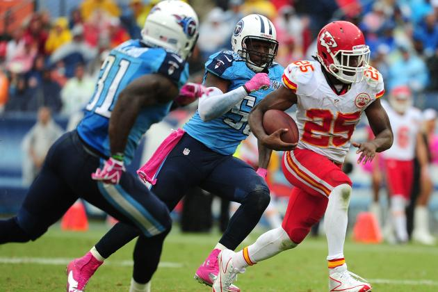 NFL Network Ranks Chiefs' Jamaal Charles League's Eighth-Best Player