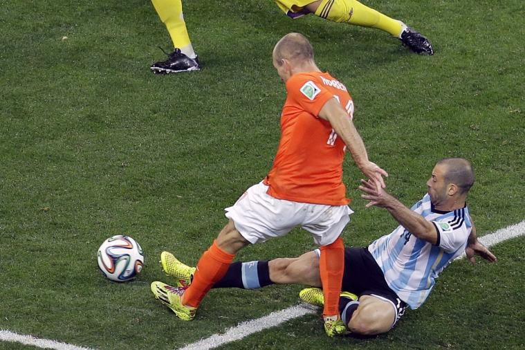 Javier Mascherano on His Match-Saving Tackle: 'I Tore the Anus'