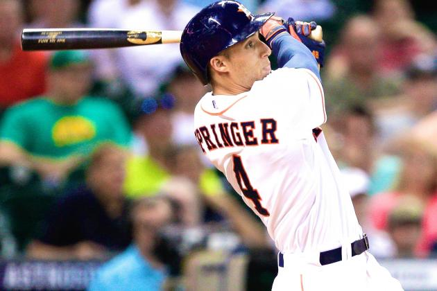 George Springer Quickly Becoming One of MLB's Most Exciting Young Talents