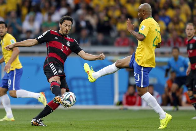 Assessing Joachim Low's Options If Mats Hummels Is Not Fit for World Cup Final