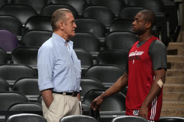 Pat Riley Needs to Address the Dwyane Wade Issue in Miami