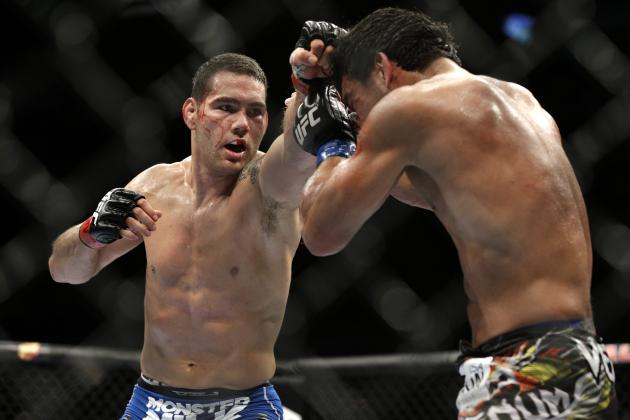 Longo: 'Legend-Slayer' Chris Weidman Eyeing Rockhold, 'Jacare' or Belfort Next