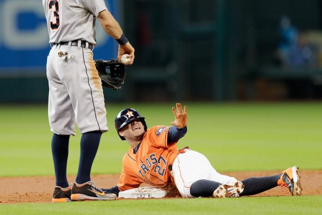 Jose Altuve and Dee Gordon Both Have 100 Hits and 40 Steals Before Break