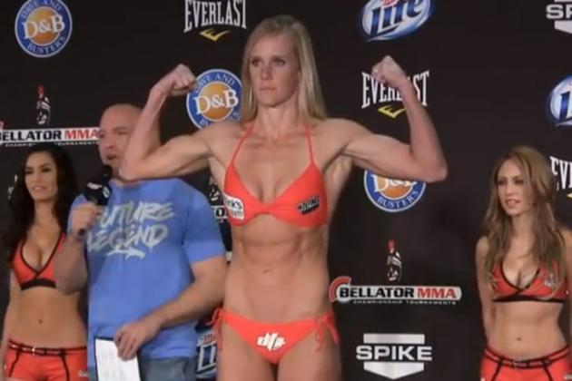 Former Female Boxer Holly Holm and UFC Finally Agree to Contract
