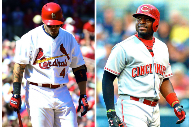 Yadier Molina, Brandon Phillips Injuries Totally Shake Up NL Playoff Picture