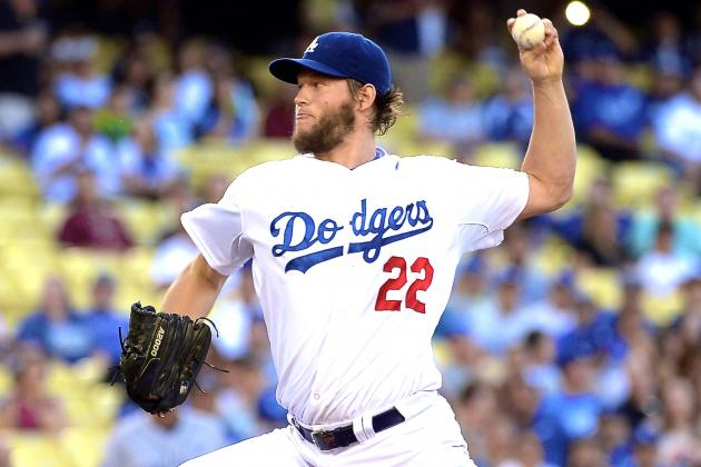 Clayton Kershaw's Consecutive Scoreless Innings Streak Ends at 41 vs. Padres