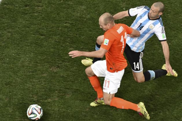 Javier Mascherano V Toni Kroos Will Decide the World Cup Final