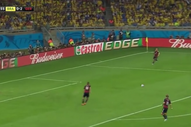 Watch: Germany Win with No Brazil Players