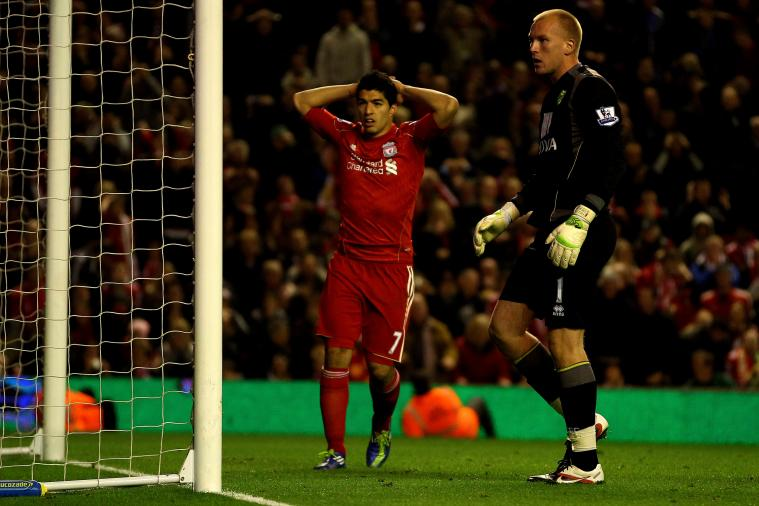Luis Suarez Transfer Fee Should Also Go to John Ruddy, Says John Ruddy