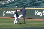 M's Pitching Coach Refuses to Turn Down During Batting Practice
