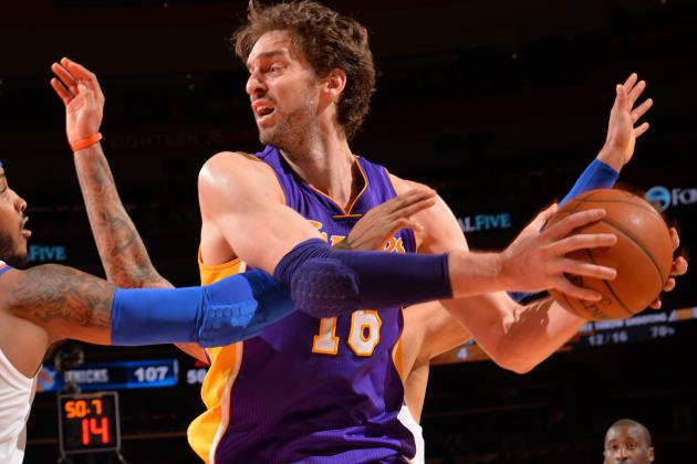 Report: Jackson Tries to Lure Gasol to New York