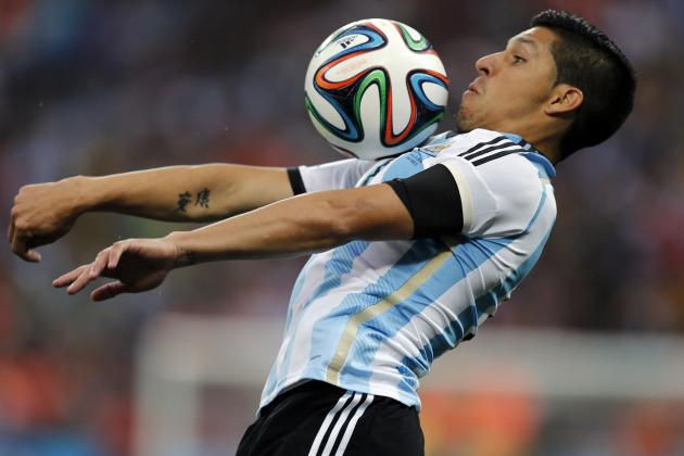 Enzo Perez Argentina Selection Is Unlikely Tactical Masterstroke from Sabella