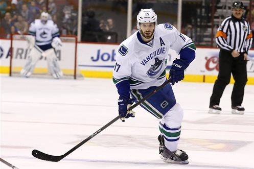 Ryan Kesler Enjoying Transition to Anaheim Ducks