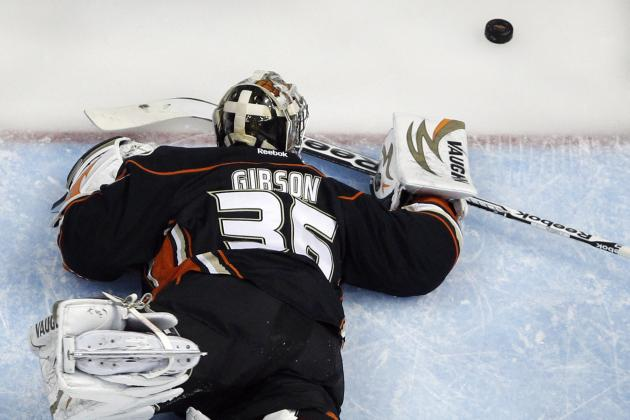John Gibson of Anaheim Ducks Using Game 7 Loss as Motivation