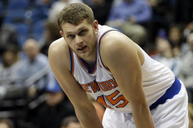 New York 'Niche': Cole Aldrich Hopes to Stick with Knicks