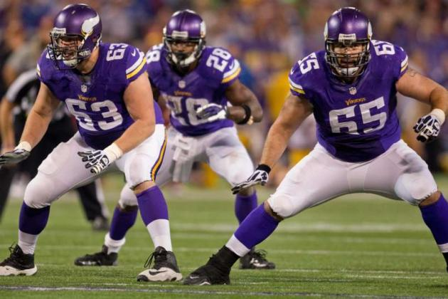 Minnesota Vikings Training Camp Preview: Offensive Line