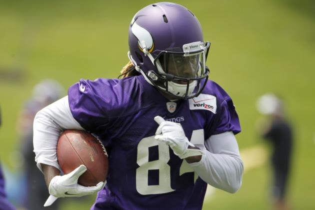 Making the Leap, No. 1: Vikings' Cordarrelle Patterson