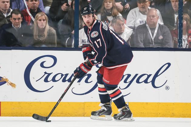 Brandon Dubinsky in Right Place at Right Time for Bloated Blue Jackets Contract