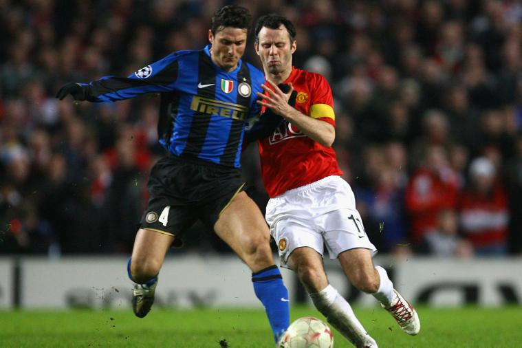 Retired Legends Ryan Giggs, Javier Zanetti Have a Chat over Twitter