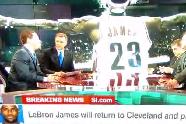 Chris Broussard Confirms LeBron's First-Person Essay