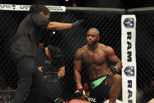 Exclusive: Former UFC Champion Rashad Evans Addresses WWE Rumors