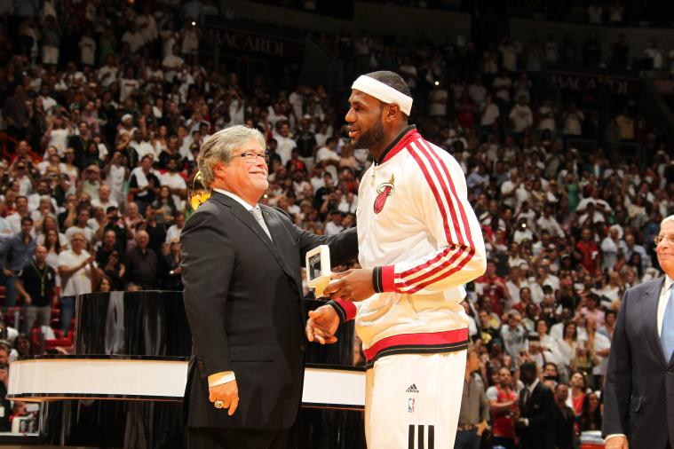 Micky Arison Bids Farewell to LeBron James by Thanking Him for the Memories