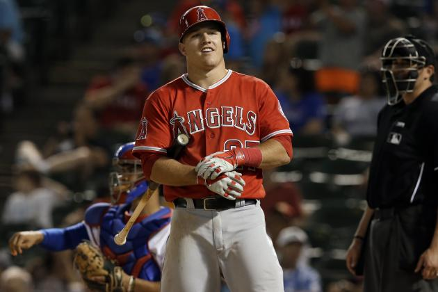 Angels' Mike Trout Fastest to 500 Hits in Franchise History