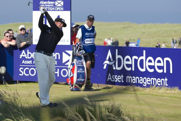 Wild Winds Blow McIlroy and Mickelson in Scottish Open; McIlroy Drives 436 Yards
