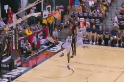 Video: Early's Huge Jam in Summer League