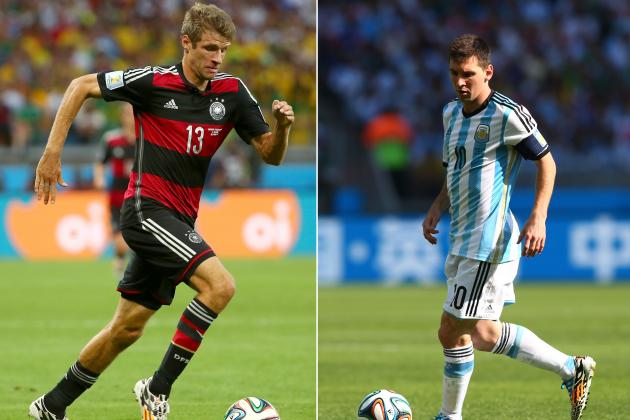 World Cup 2014 Final: Germany vs. Argentina Live Stream, Start Time and Preview